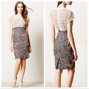 ANTHRO Byron Lars Beguile Lace Study dress. 0